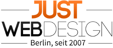 Just WEBdesign Berlin Logo